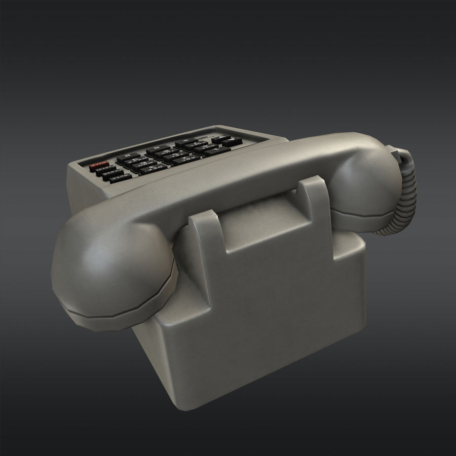Phone 01 royalty-free 3d model - Preview no. 3