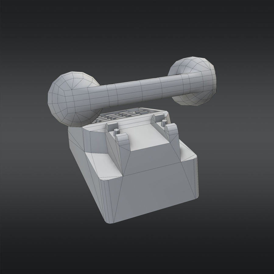 Phone 01 royalty-free 3d model - Preview no. 11