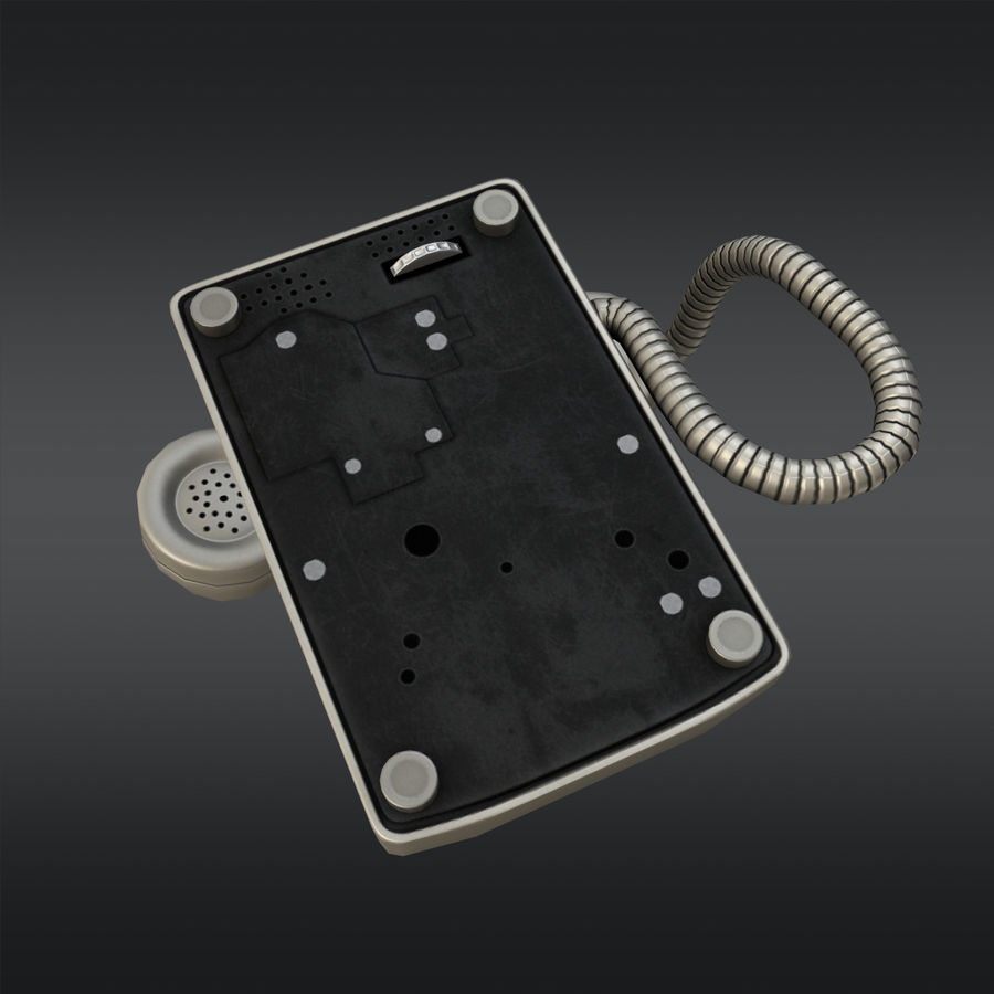 Phone 01 royalty-free 3d model - Preview no. 4