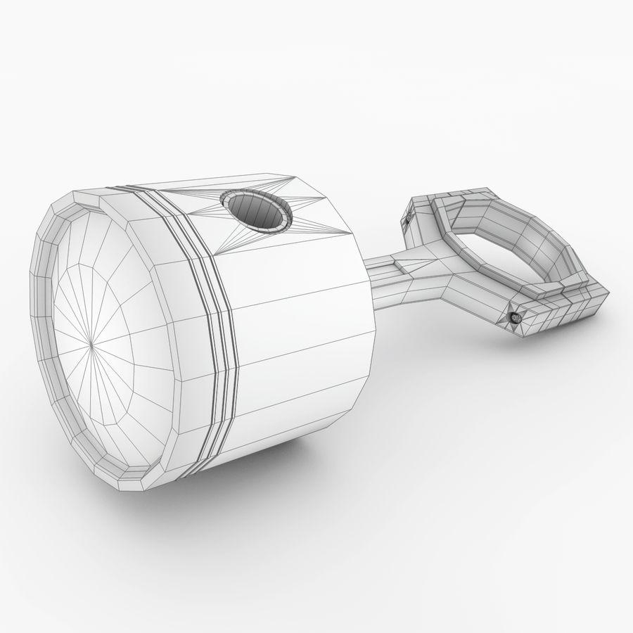Piston royalty-free 3d model - Preview no. 7