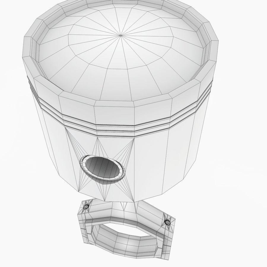 Piston royalty-free 3d model - Preview no. 11