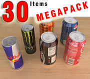 30 items MegaPack 3d model