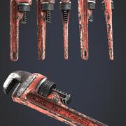 screw wrench 3d model