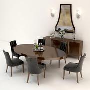 Baker Furniture Set 3d model