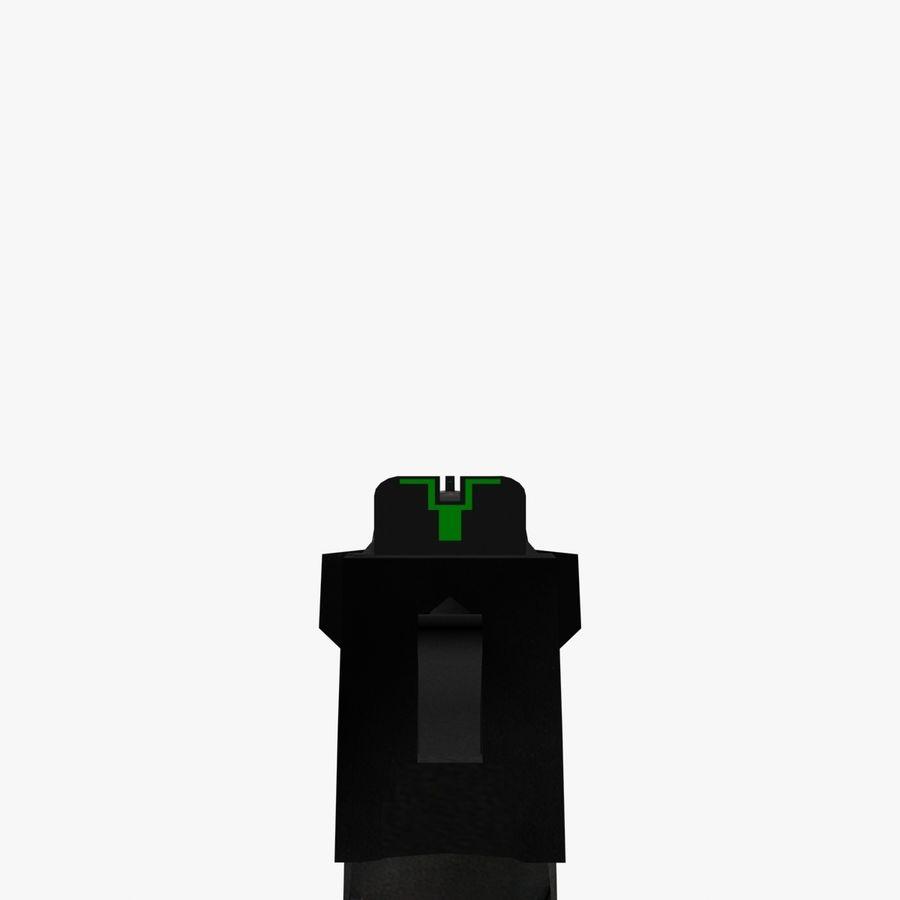 desert eagle royalty-free 3d model - Preview no. 5