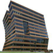 Menzis Office Building 3d model