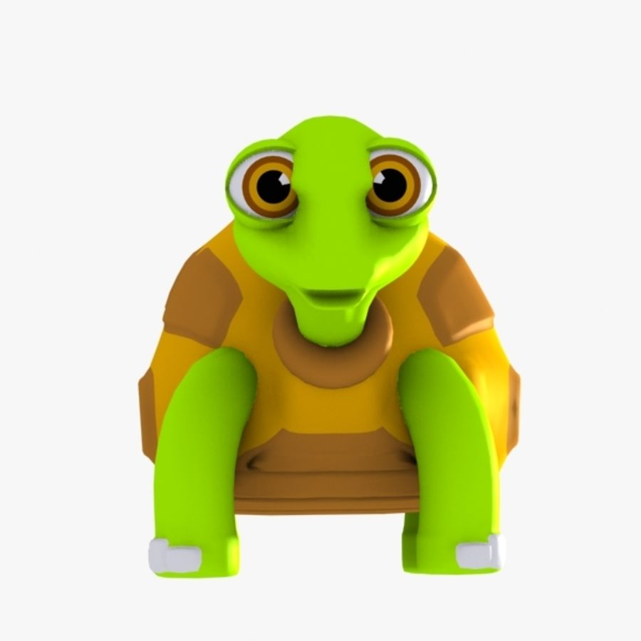 Turtle Character royalty-free 3d model - Preview no. 8