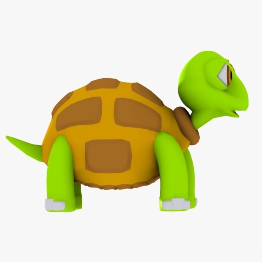 Turtle Character royalty-free 3d model - Preview no. 5
