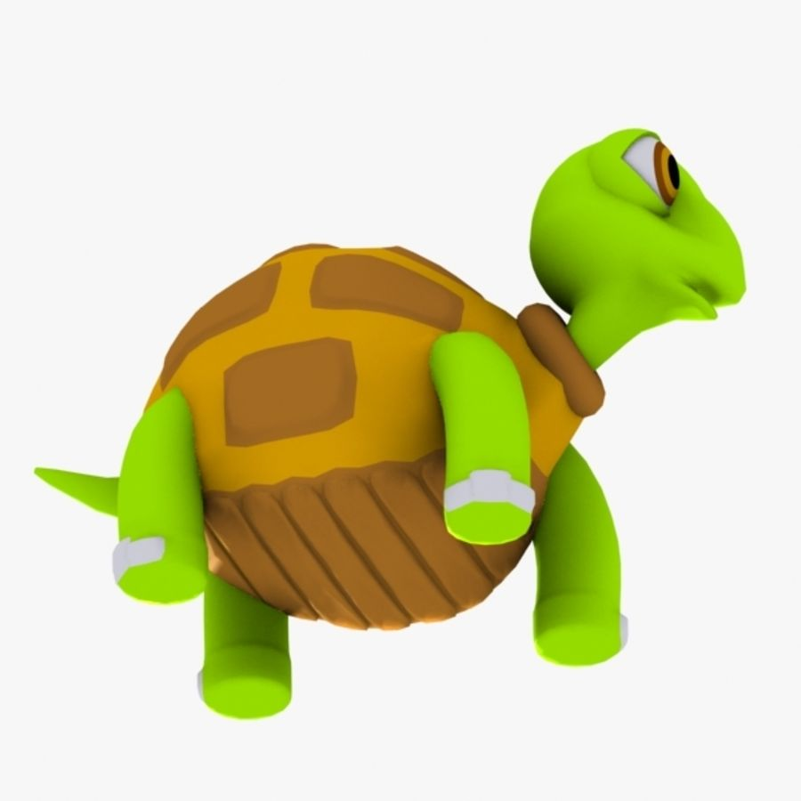 Turtle Character royalty-free 3d model - Preview no. 6