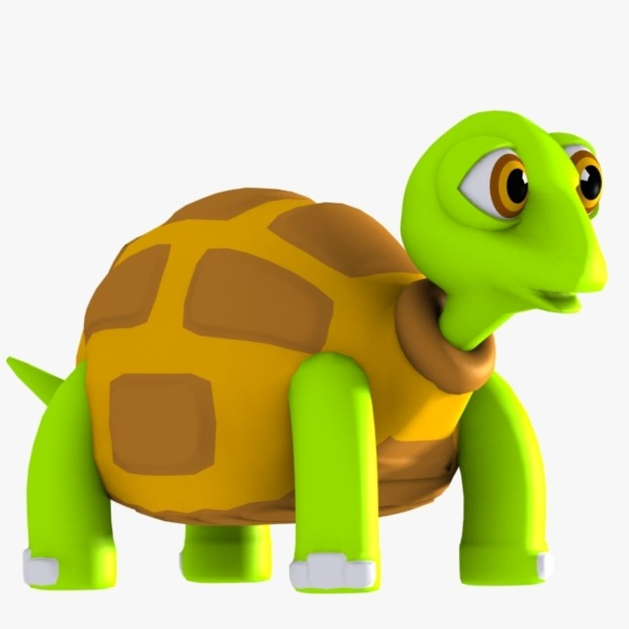 Turtle Character royalty-free 3d model - Preview no. 1