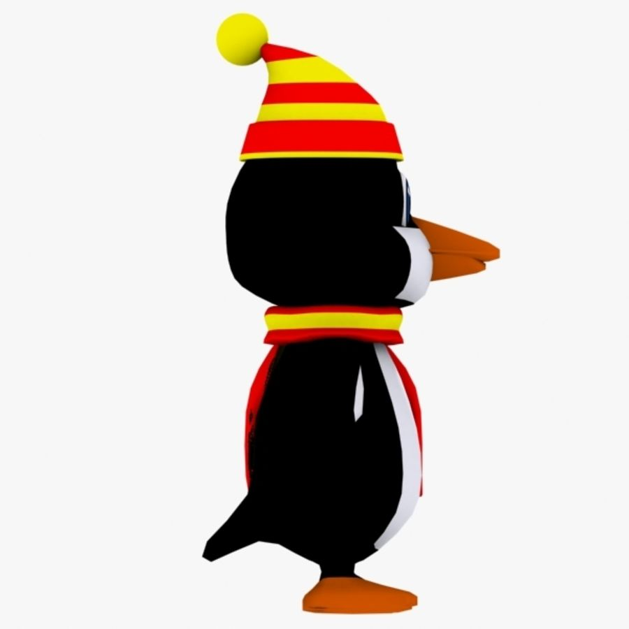 Penguin Character royalty-free 3d model - Preview no. 4