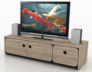 Entertainment Center TV Cabinet 3d model