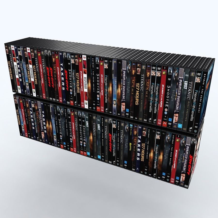 dvd royalty-free 3d model - Preview no. 5