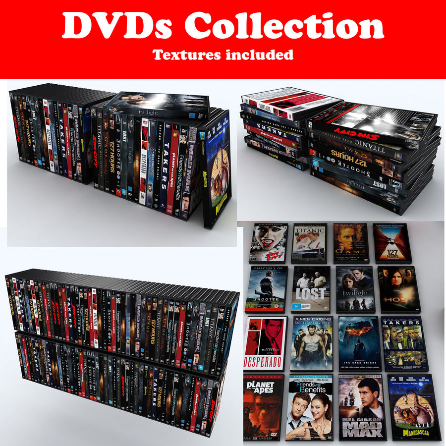 dvd royalty-free 3d model - Preview no. 1
