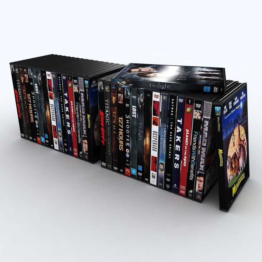 dvd royalty-free 3d model - Preview no. 3