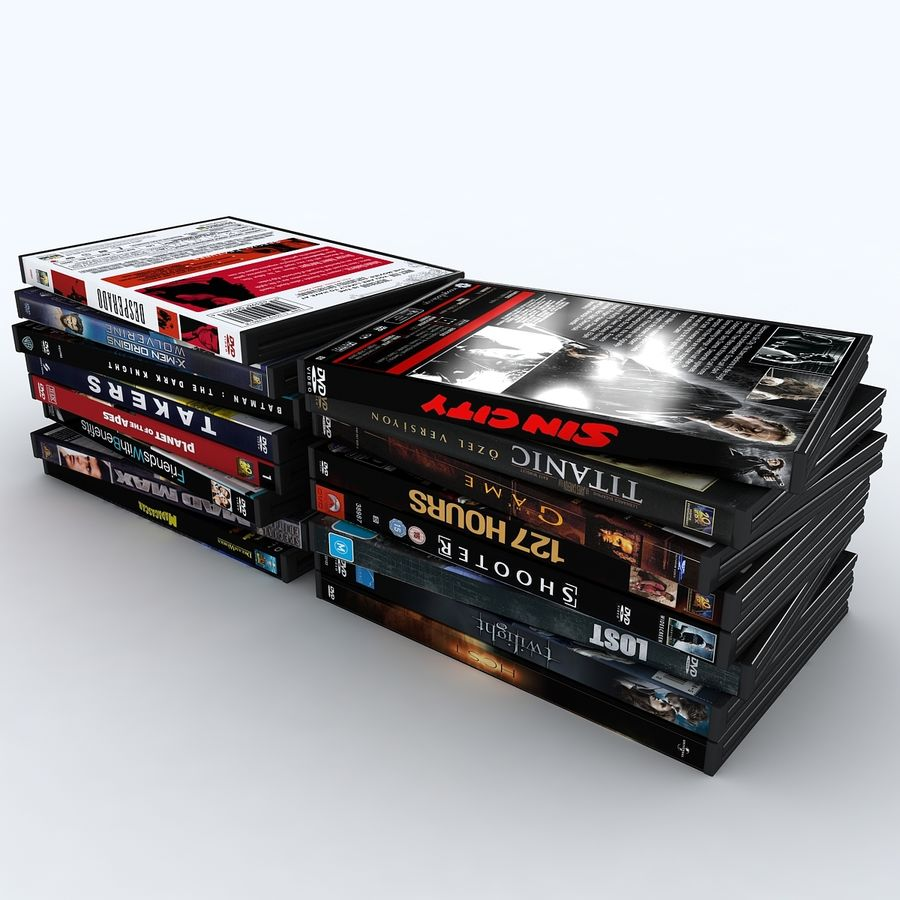 dvd royalty-free 3d model - Preview no. 4