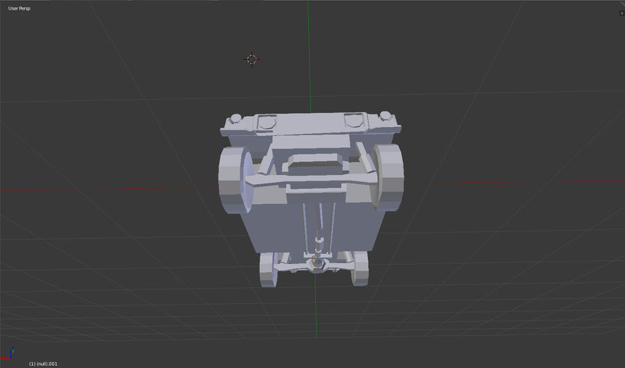 Humvee (sin textura) royalty-free modelo 3d - Preview no. 5