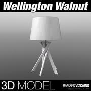 Wellington Valnöt 3d model