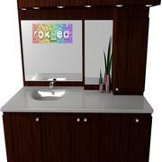 Gabinete de la vanidad modelo 3d
