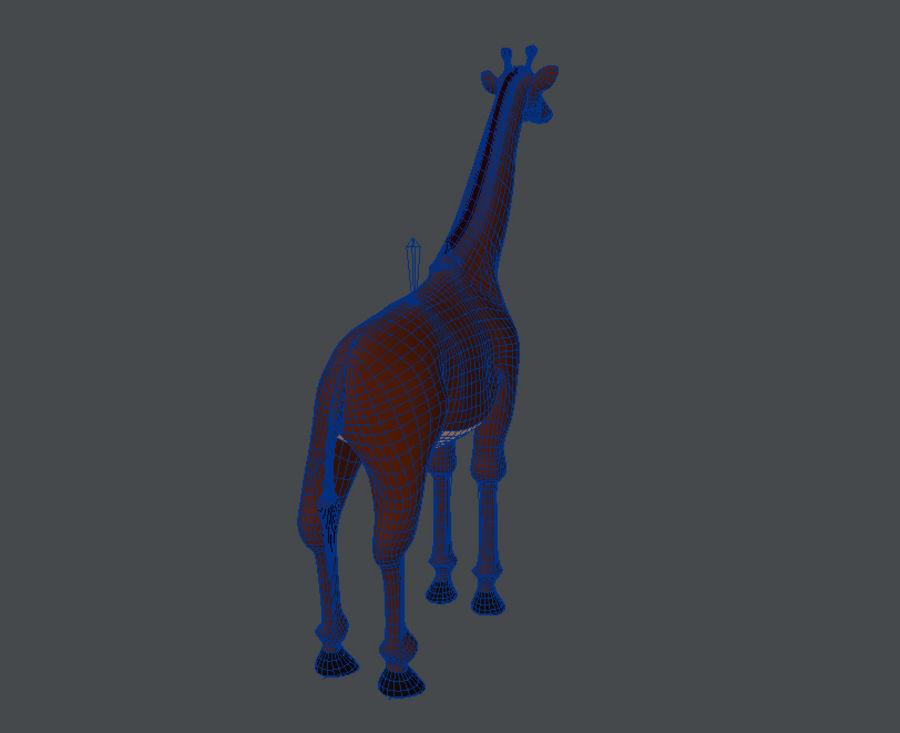 Żyrafa royalty-free 3d model - Preview no. 6