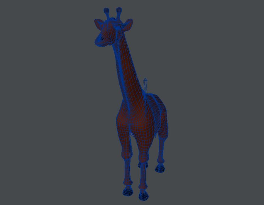 Żyrafa royalty-free 3d model - Preview no. 5