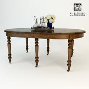 Eichholtz Table Dinning Portman 3d model