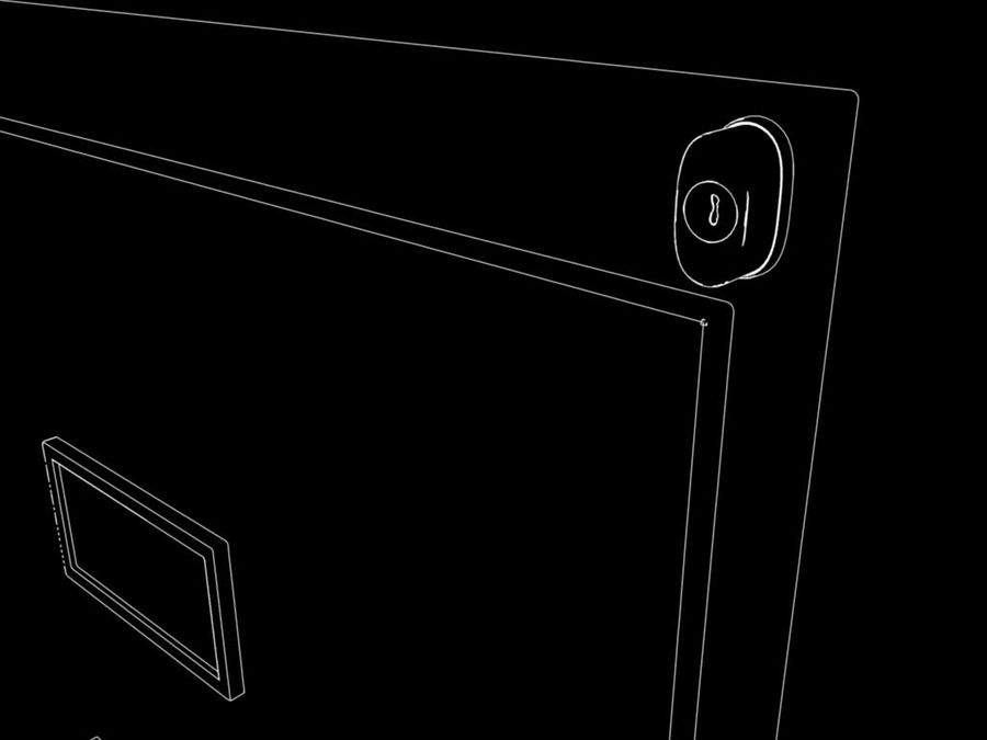 Filing Cabinet royalty-free 3d model - Preview no. 6