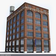 Detroit building 3d model