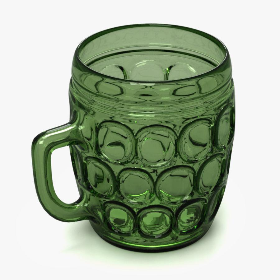 Beer mug royalty-free 3d model - Preview no. 1