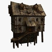 Old House (low poly) 3d model