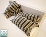 bed Pillow 05 3d model