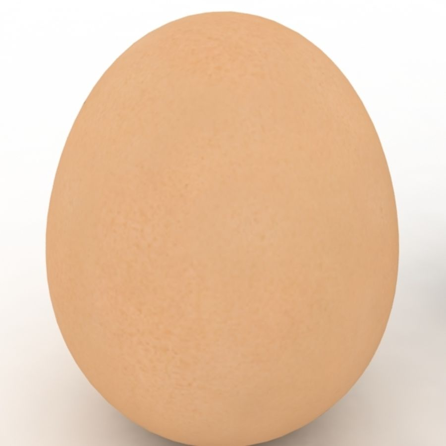 Eggs royalty-free 3d model - Preview no. 13