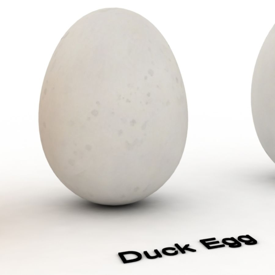 Eggs royalty-free 3d model - Preview no. 6