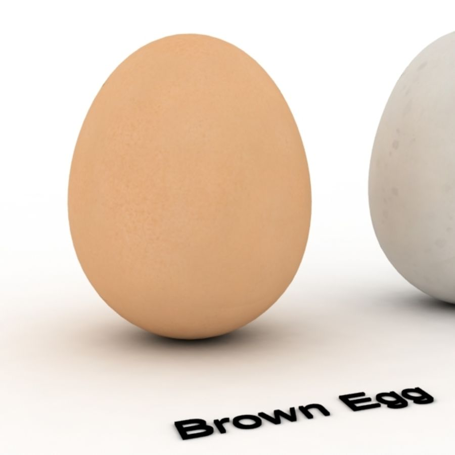 Eggs royalty-free 3d model - Preview no. 7