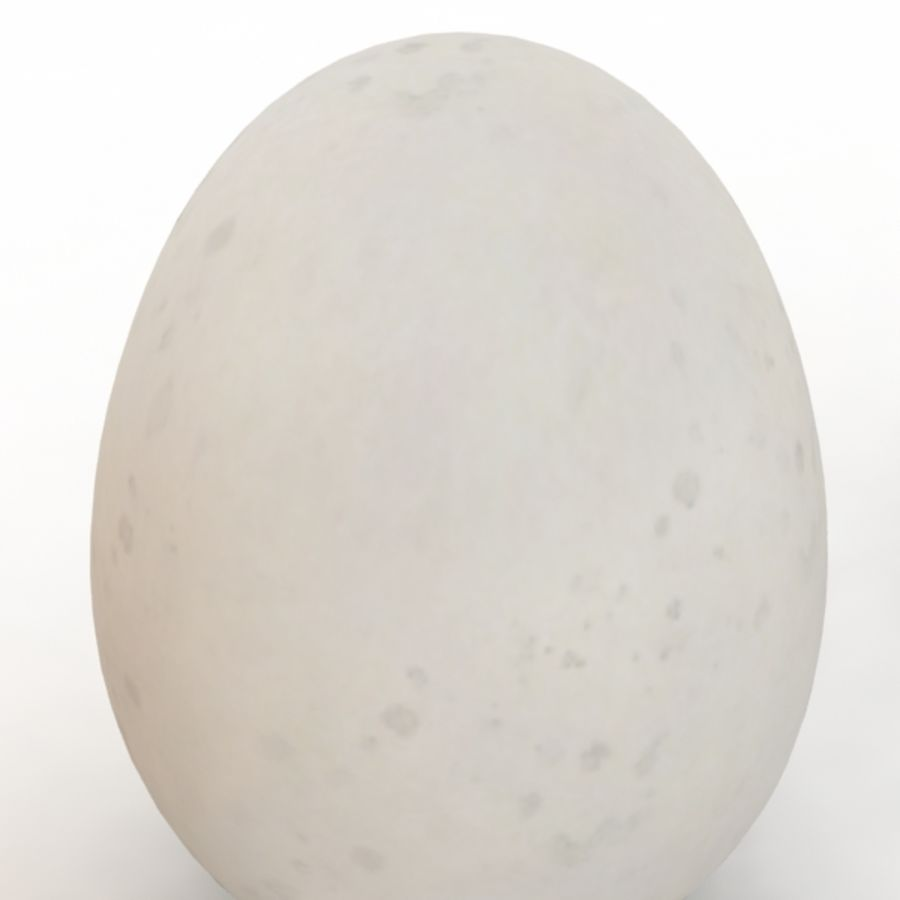Eggs royalty-free 3d model - Preview no. 12