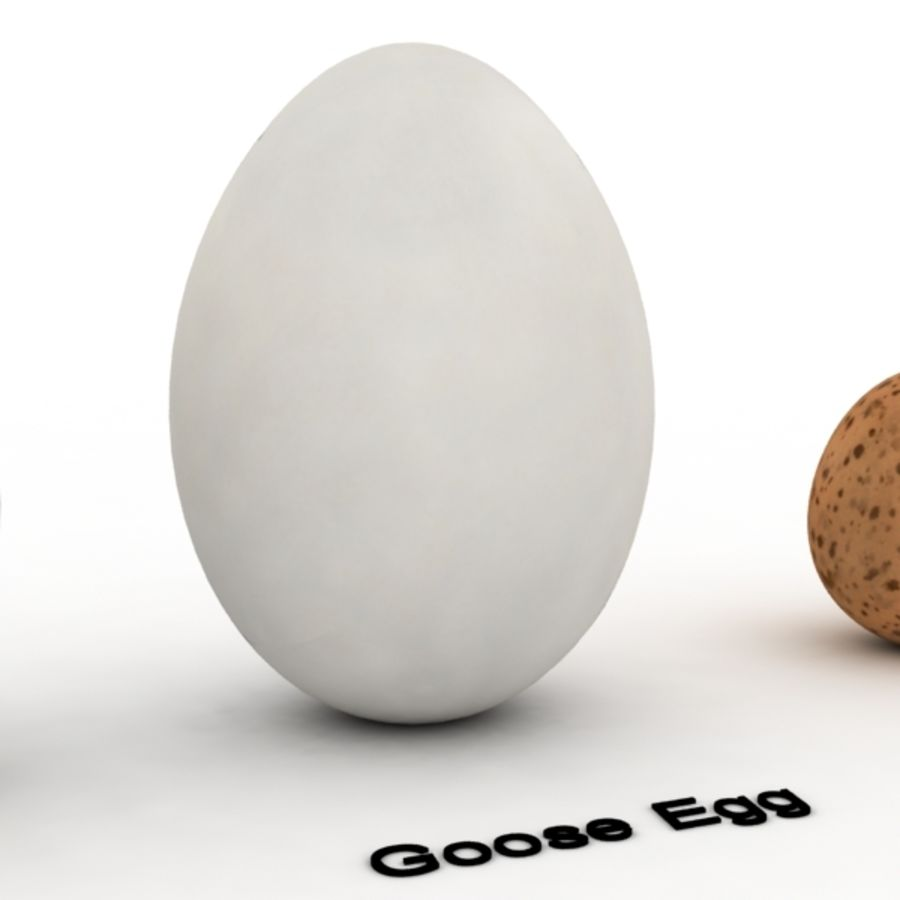 Eggs royalty-free 3d model - Preview no. 5