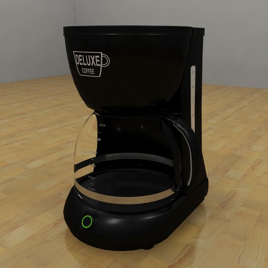 Coffeemaker royalty-free 3d model - Preview no. 1