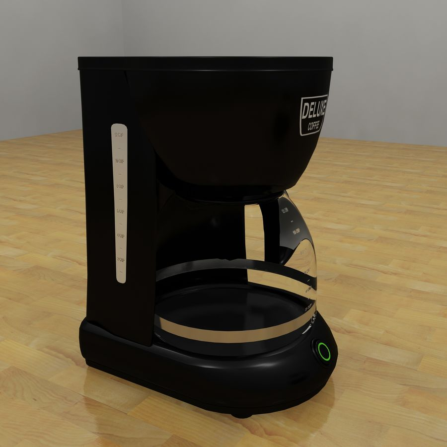 Coffeemaker royalty-free 3d model - Preview no. 2