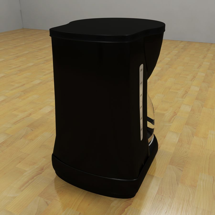 Coffeemaker royalty-free 3d model - Preview no. 4