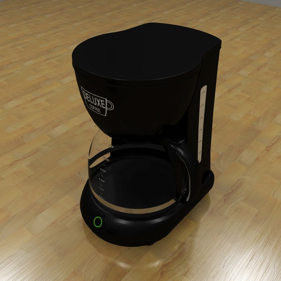 Coffeemaker royalty-free 3d model - Preview no. 3