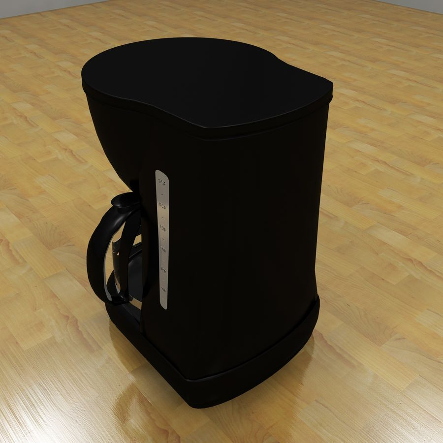 Coffeemaker royalty-free 3d model - Preview no. 5