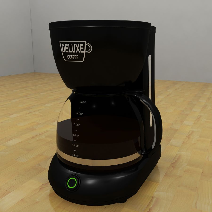 Coffeemaker royalty-free 3d model - Preview no. 8