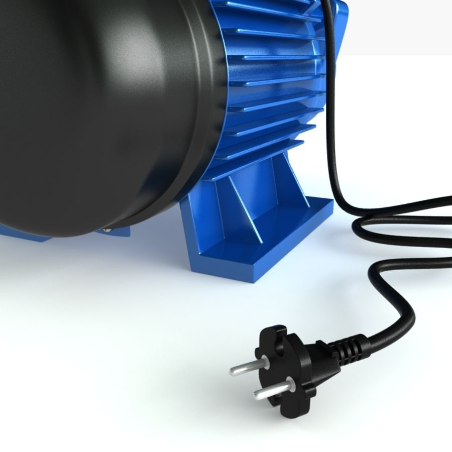 Water Pump royalty-free 3d model - Preview no. 8