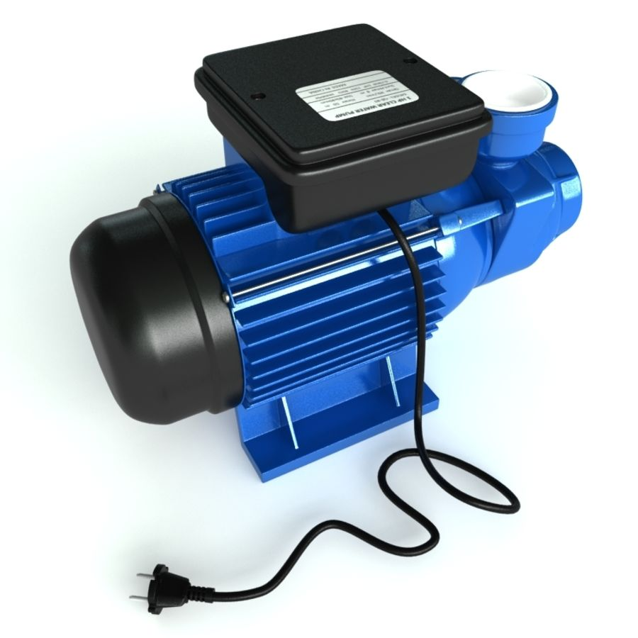 Water Pump royalty-free 3d model - Preview no. 4