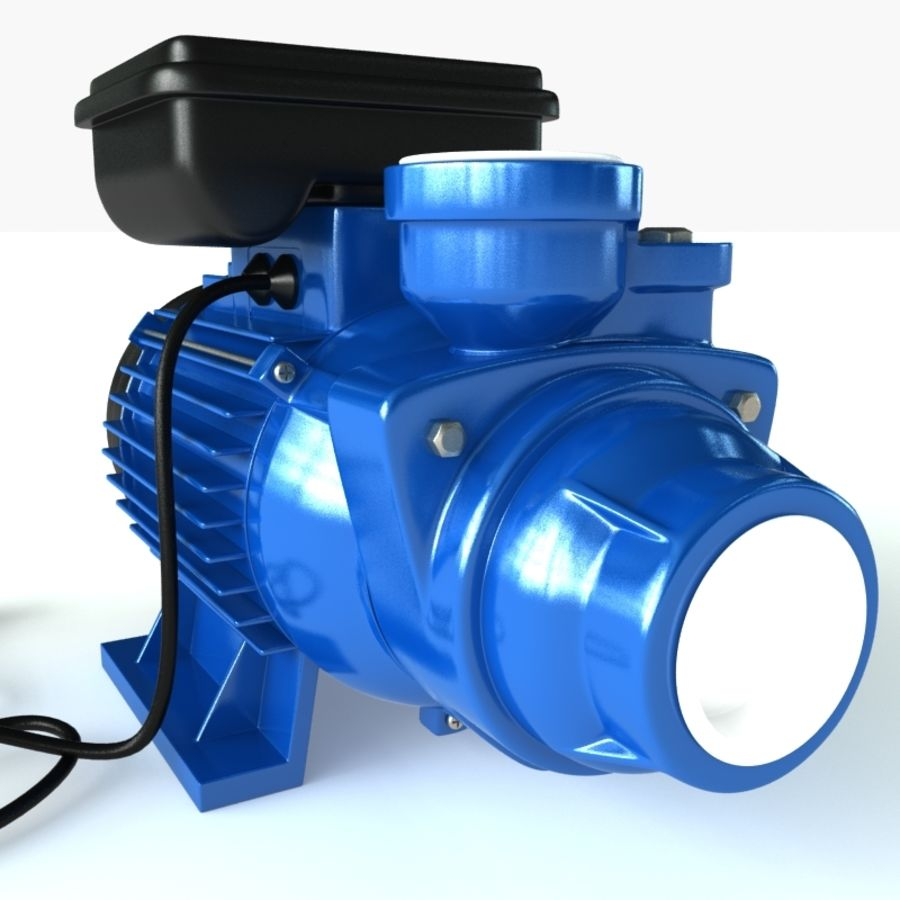 Water Pump royalty-free 3d model - Preview no. 5