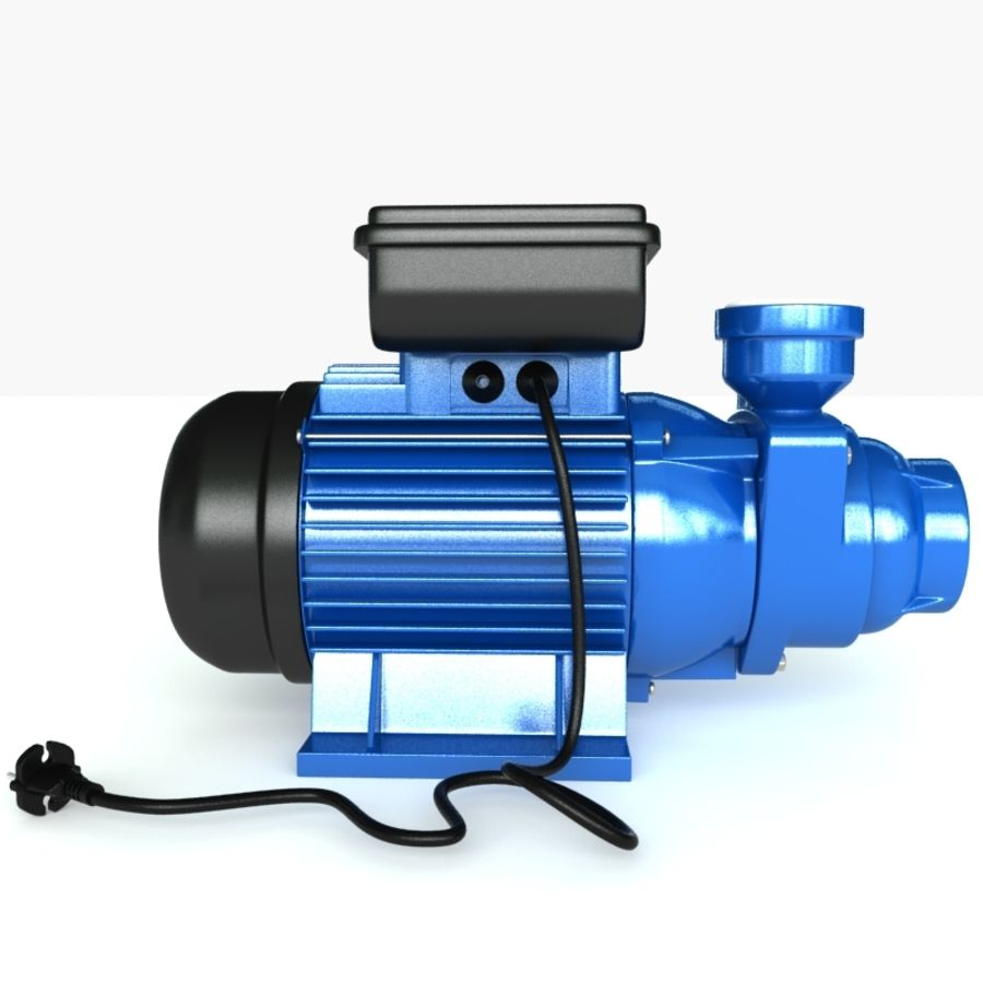 Water Pump royalty-free 3d model - Preview no. 9