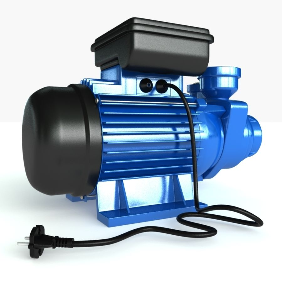 Water Pump royalty-free 3d model - Preview no. 1