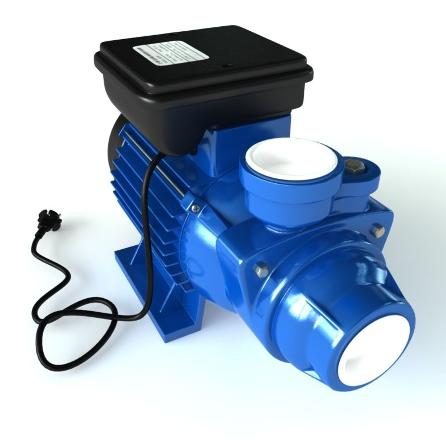 Water Pump royalty-free 3d model - Preview no. 6