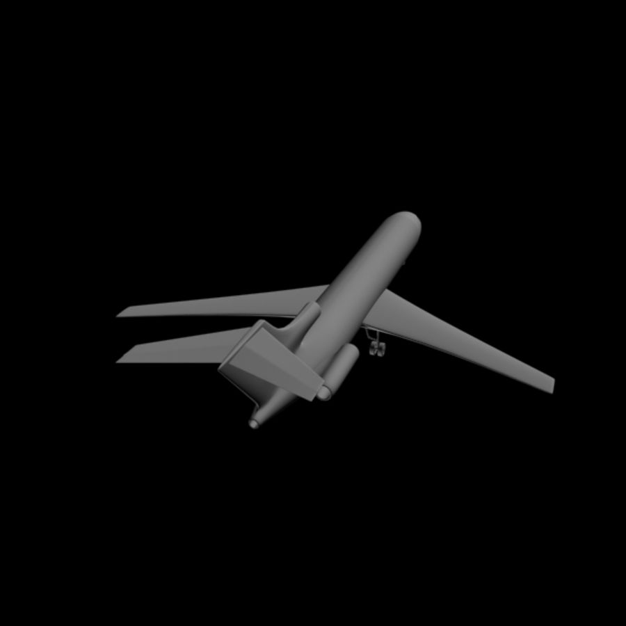 Airplane royalty-free 3d model - Preview no. 5