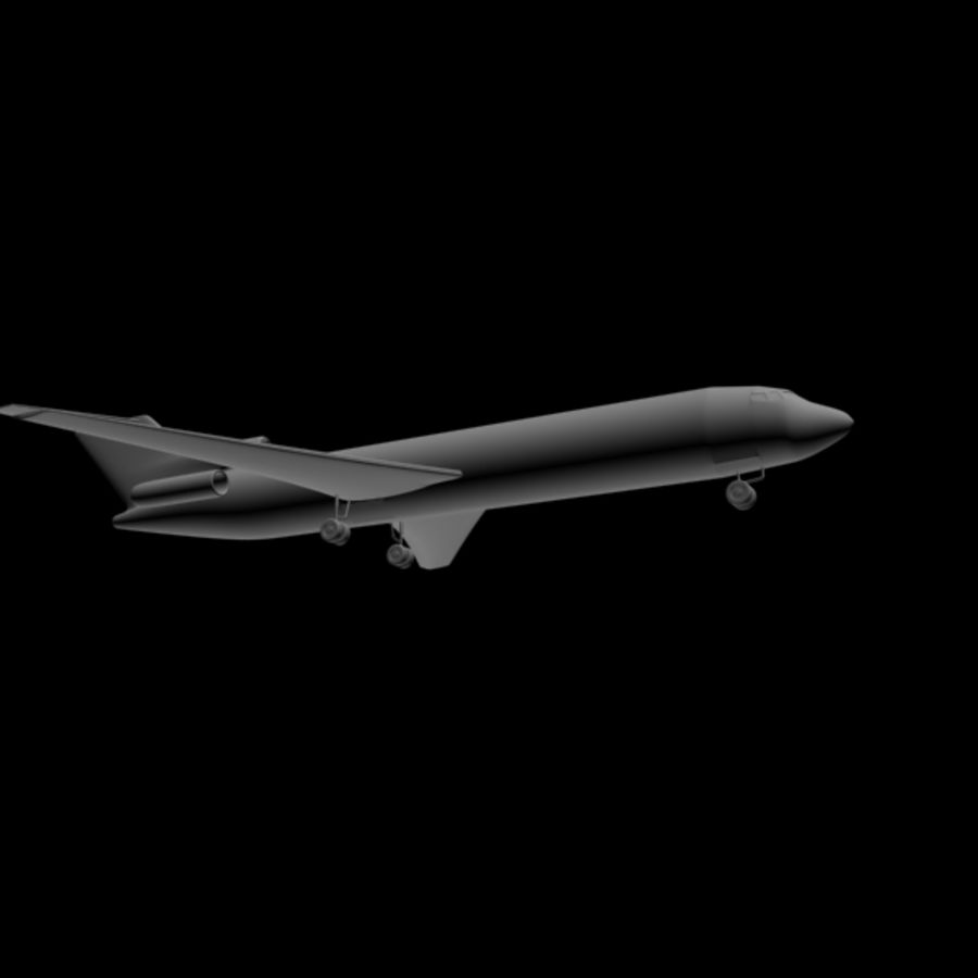 Airplane royalty-free 3d model - Preview no. 4